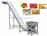 Modular de la industria alimentaria, cintas transportadoras inclinadas de plástico