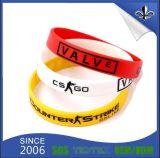 Vario disegno e nuovo tipo su ordinazione Wristband del silicone