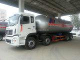 Petroleiro do transporte do gás líquido de Dongfeng 8X4 15mt 36m3 das vendas diretas da manufatura