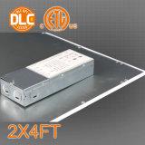 Marco de la luz del panel LED 2X4FT Al + PMMA Cubierta 50W