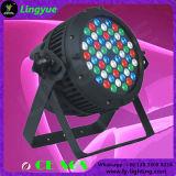54X3W RGBW LED PAR al aire libre