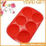 Molde de la bandeja del cubo de hielo del silicón de la forma de la flor de la alta calidad (YB-AB-020)