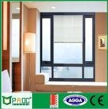 Preis des Aluminiumflügelfenster-Fensters mit As2047 doppeltem Glas Pnoc0004cmw