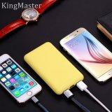 Banco portátil da potência da bateria externa do rei Mestre 10000mAh para o móbil