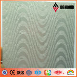 China Novos Produtos Hot-Sale Painel Composto de alumínio em relevo para construções