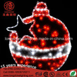 LED Eaves Decorative IP65 Tinsel Gift Bell Motif Rope Luz de Natal para Decoração de Natal