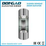 Beobachtungs-Aufzug mit kleinem Maschinen-Raum