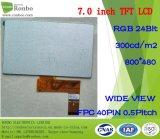 "7.0 ""800 * 480 Display LCD TFT RGB, Ek9716, 40pin per POS, Campanello, medico"