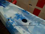 2 Paddlers (maximal) und LLDPE/HDPE Rumpf-Material-Kajak