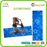 Esteras antideslizantes de la yoga de la estabilidad de la comodidad del caucho natural de la alta calidad