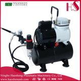 Компрессор высокой эффективности холодного бегунка Airbrush Af186k ПРОФЕССИОНАЛЬНЫЙ с баком воздуха