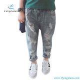 Jeans diritti del denim dei ragazzi di estate di modo dai jeans della mosca