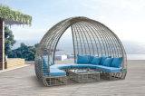새로운 디자인 등나무 소파 옥외 가구