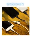 Conservar o cabo cobrando móvel 1m do USB do cabo de dados de 20%