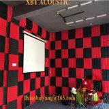 Panneau acoustique de détective de panneau de plafond de panneau de mur d'écran antibruit de mousse d'éponge de pyramide colorée