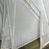 Painel de malha de alumínio com ISO para decoração exterior