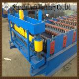 Máquina de Forma de Rolo Ondulado das Chapas de Aço