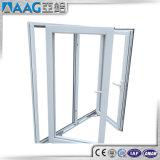 Дверь застекленная двойником термально сломанная алюминиевая французская