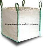 4 Coin FIBC Jumbo pour des boucles de sacs de poudre de magnésite