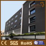 Revestimiento Anti-ULTRAVIOLETA del panel de pared exterior del surtidor WPC de China