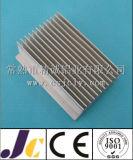 Dissipador de calor de alumínio da anodização preta, perfil de alumínio da extrusão do dissipador de calor (JC-P-82029)