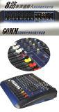 8 채널 GM8 단계 오디오 믹서 고품질