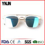 Óculos de sol do quadrado da boa qualidade das cores da forma elevada 5 de Ynjn
