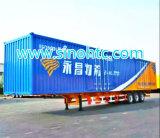 CIMC aanhangwagen 50 ton 3 de Aanhangwagen van de Lading van Assen