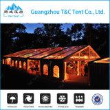 Grande tente extérieure personnalisée de chapiteau de mariage d'usager avec le mur en verre