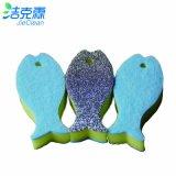 Produtos de limpeza de formas de tartaruga, Esponja de forma de desenho animado, Ferramenta de limpeza
