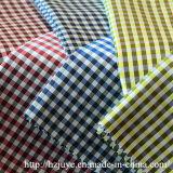 Uso teñido hilado de la tela para la guarnición de la ropa