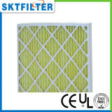 Pre filtro de aire usado en sistemas de condicionamiento centrales