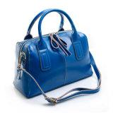 Sacchetto di Tote della spalla del sacchetto della maniglia della parte superiore di modo della borsa del cuoio genuino