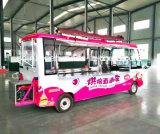 Camion mobile d'aliments de préparation rapide, camion de chariot d'aliments de préparation rapide