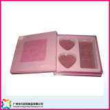 Concevoir la boîte-cadeau vide de forme de coeur de papier d'art