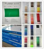 Tejido de gasa de alta torsión de Dacron, 100 colores, ventas al contado
