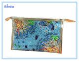 Colorido Barcelona Simpe Imprimir bolsa de cosméticos