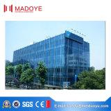 Mur rideau en verre de bâti en aluminium de qualité supérieure avec le prix bon marché