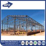 金属製造の研修会の倉庫のためのプレハブの鉄骨構造の建物
