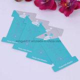 Cartão plástico da cor feita sob encomenda da impressão/cabeça de dobramento do cartão do Tag/cor
