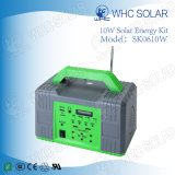 Kit multifonctionnel 10W Solar Home Lighting petit rechargeable