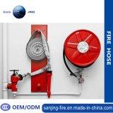 Cabinet de tuyau de tuyau d'incendie avec porte en verre