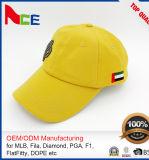 Fördernder Metallplattenstickerei-Polyester-Gewebe-Golf-Großhandelshut 100%