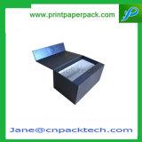 Zoll-Falten magnetisch u. Farbband-gedichtete Kasten-steifer Installations-Kasten-Papier-Geschenk-Wein-verpackenkasten