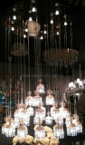 Modern Grande vidro decorativo Lâmpada Pendente