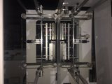 Automatischer heißer Ausschnitt PET Reißverschluss-Plastiktasche, die Maschine herstellt