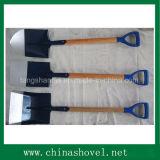 Лопаты хорошего качества сад инструмент лопаты лепестковые с деревянной ручкой