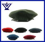 다채로운 베레모 군 모자 경찰 베레모 육군 모자 (SYSG-1820)