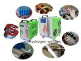Fabrication d'étalage de signe de DEL annonçant la machine de soudure en aluminium d'hydrogène d'outil de production