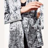 方法女性の余暇のビロードの包帯のスーツはブラウスに着せる
